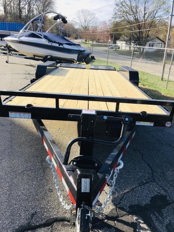 2021 Sure-Trac ST82153URET-B-140 Equipment Trailer