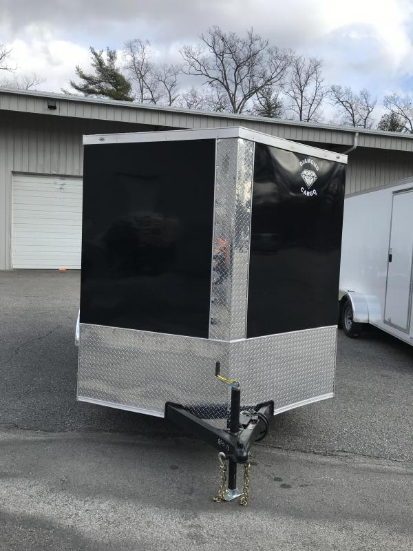 2021 Diamond Cargo 7 x 14 Tandem Axle Enclosed Trailer Enclosed Cargo Trailer