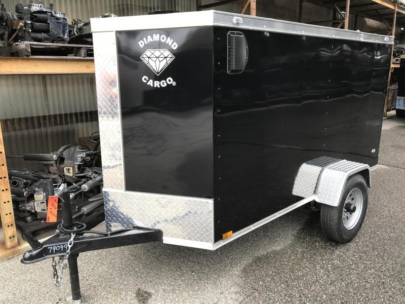 20201 Diamond Cargo 4X8 SA Enclosed Cargo Trailer