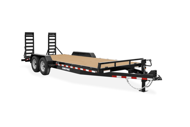 2021 Sure-Trac ST8218ET-B-140 Equipment Trailer