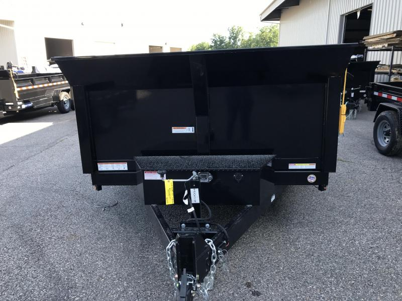 "2021 Sure-Trac 82""x12 HD Low Profile Dump (ST8212HLOD-B-120) Dump Trailer"