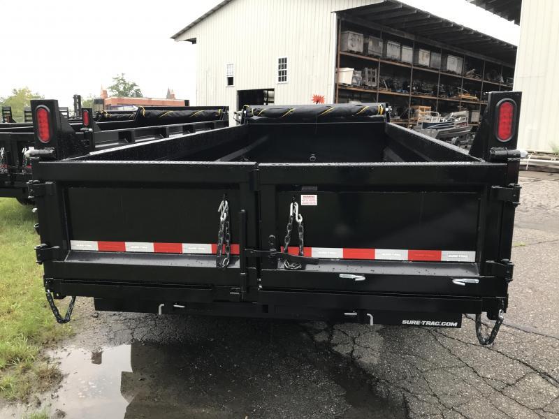 2021 Sure-Trac ST8216HLOD-B-140 Dump Trailer