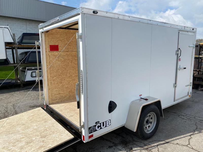 2021 Rhino Trailers 6x12 Enclosed Cargo Trailer