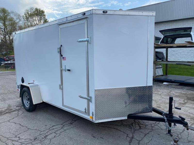 2021 Rhino Trailers 6x12 Enclosed Cargo Trailer