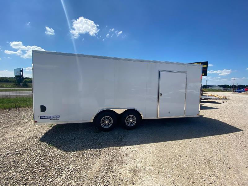 SURE-TRAC 8.5X20 PRO SERIES ENCLOSED CAR HAULER