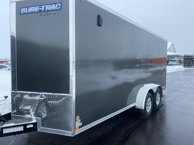 2021 Sure-Trac 7X18 Enclosed Cargo Trailer