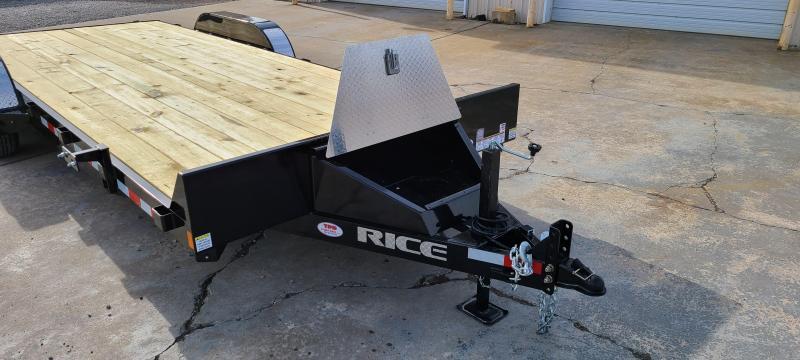 "2021 Rice 82""X20' Equipment Trailer"