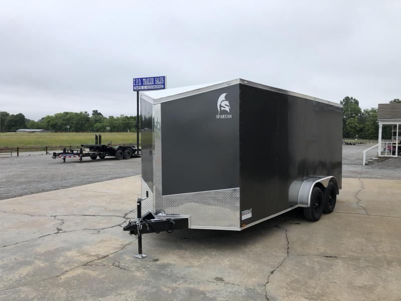 2021 Spartan 7'x16' Tandem Axle Enclosed Trailer