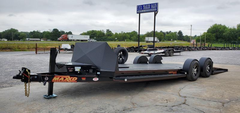 2020 MAXXD 24' Blackout Drop-N-Load Car Hauler