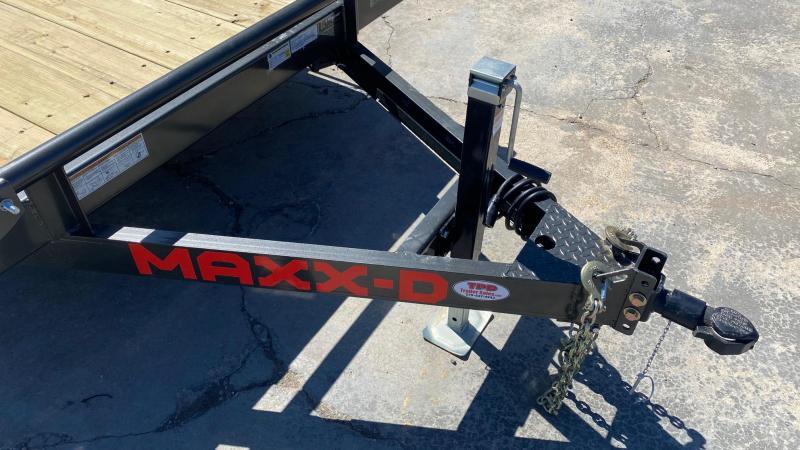 "2021 MAXXD 83""x24' Equipment Trailer"