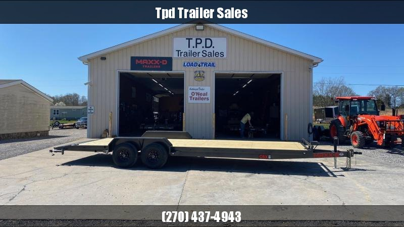 "2021 MAXXD 83""x24' Equipment Trailer"