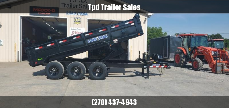 "2021 Load Trail 83""x16' 21k Dump Trailer"