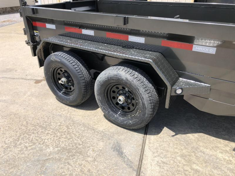 "2021 MAXXD 60""x10' 10k Dump Trailer"