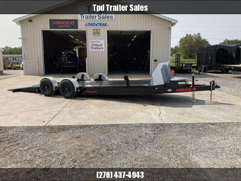 "2021 MAXXD 80""X24' Drop-N-Load Car Hauler"