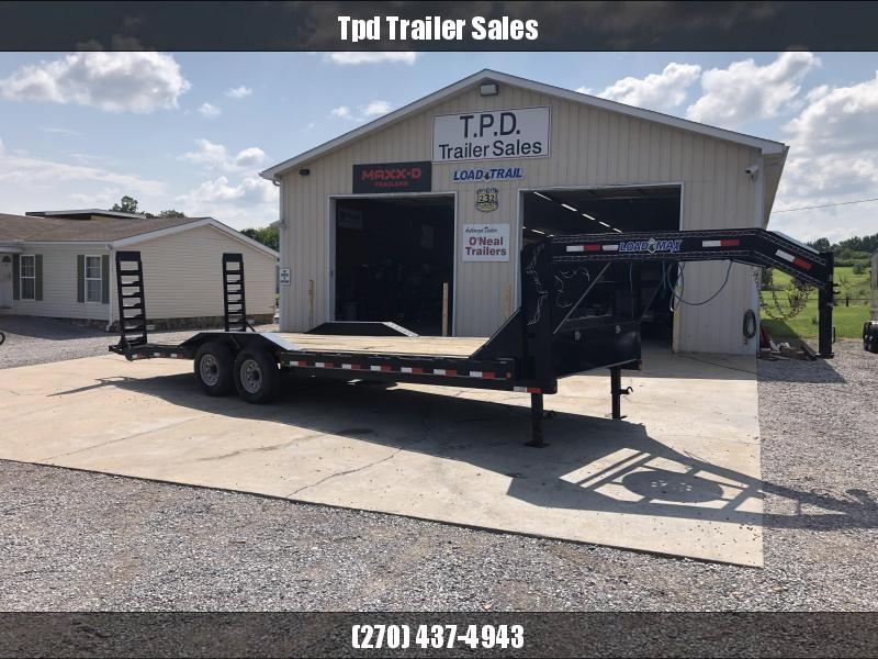 "USED 2017 Load Trail 102""x24' 14k Gooseneck Equipment Trailer"