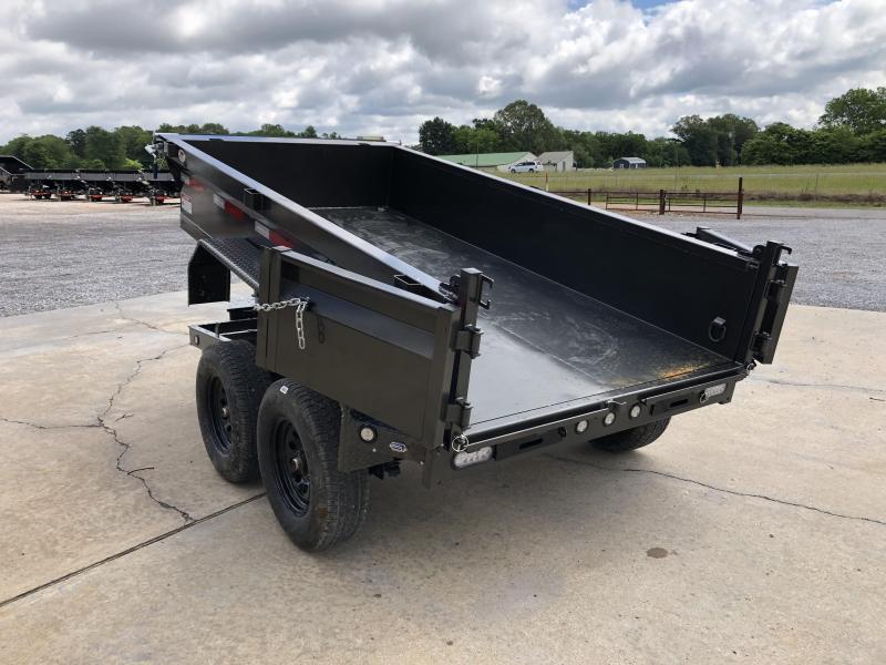 "2021 MAXXD 60""x10' 7k Dump Trailer"