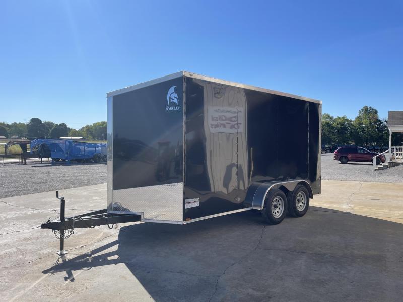 2022 Spartan Cargo 7'X14' Tandem Axle Enclosed Trailer