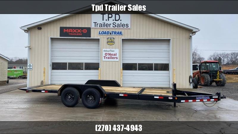 "2021 Load Trail 83""x20' Tilt Trailer"