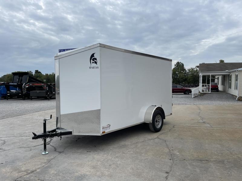 2022 Spartan Cargo 6X12 SA 3k Enclosed Cargo Trailer