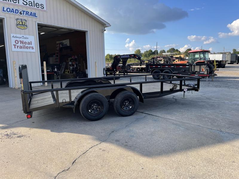 "2022 Load Trail 77""X16' 7K Equipment Trailer"