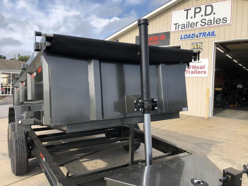 "2022 MAXXD 83""x14' 14k Telescoping Dump Trailer"