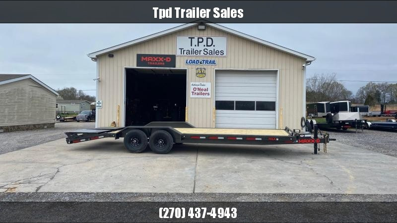 "2021 MAXXD 102""x24' Equipment Trailer"