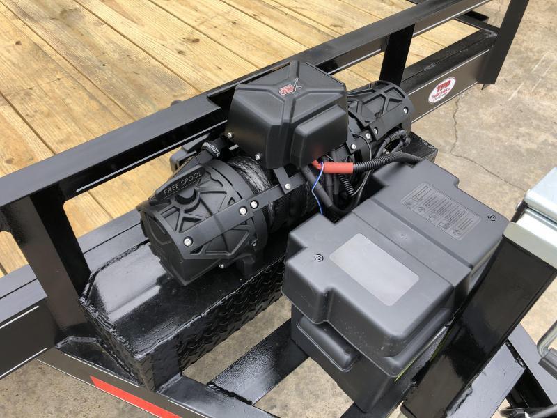 "2021 O Neal 6'10""x20' Tandem Axle Equipment Trailer"