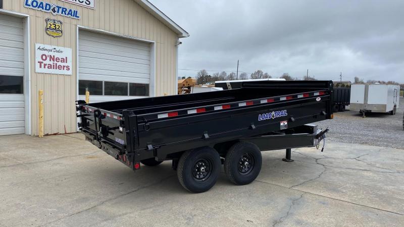 "2021 Load Trail 96""x14' Deckover Dump Trailer"