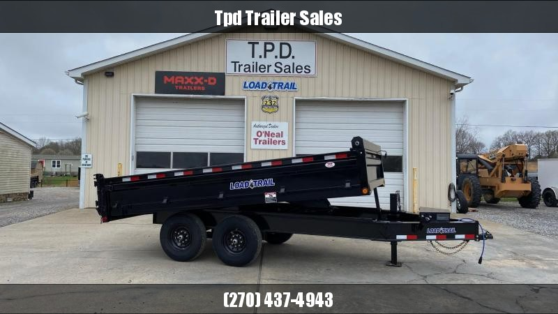 "2021 Load Trail 96""x14' Deckover Dump Trailer"