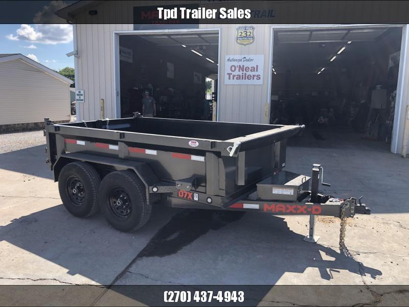 "2021 MAXXD 72""x10' 12k Dump Trailer"