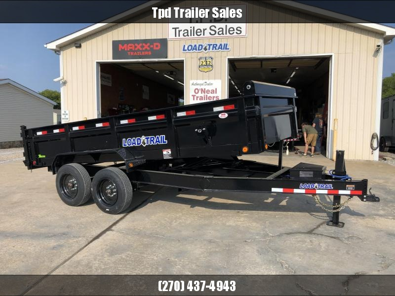 "2022 Load Trail 83""x16' 16k Dump Trailer"