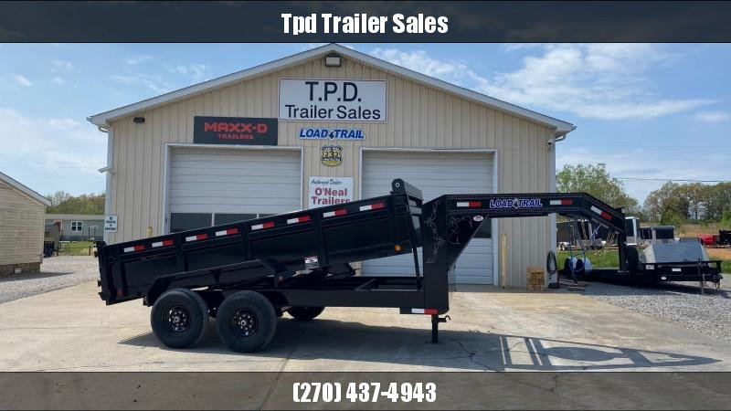 "2021 Load Trail 83""x14' Gooseneck Dump Trailer"