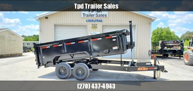 "2020 Maxxd 83""X14' Dump Trailer"