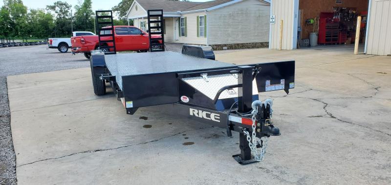 "2020 Rice 82""X22' Equipment Trailer"