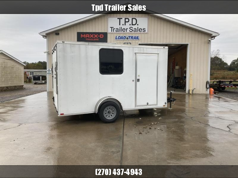 Used 2020 Spartan 7'X12' Enclosed Trailer