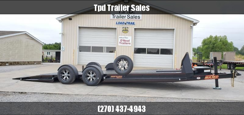 "2020 Maxxd 80""X24' Blackout Drop-N-Load Car Hauler"