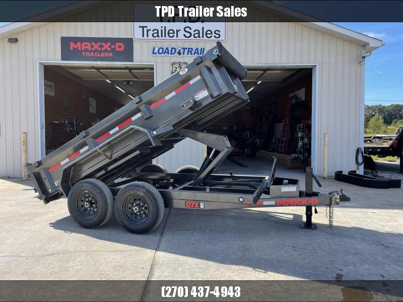"2022 MAXXD 72""X12' 14K Dump Trailer"