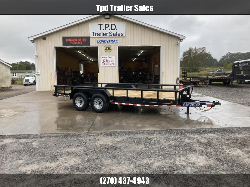 "2021 Load Trail 83""X18' Equipment Trailer"