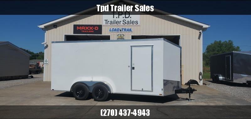2021 Spartan 7x16 Tandem Axle Enclosed Trailer