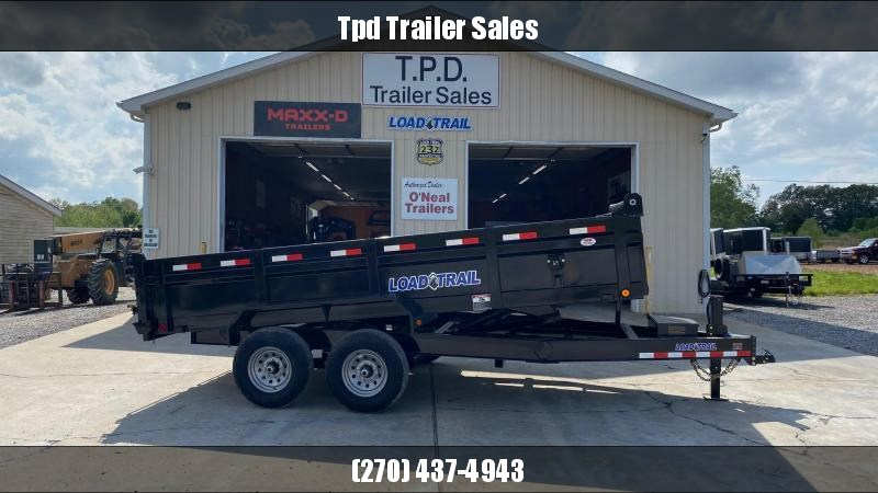 "2021 Load Trail 83""x16' Dump Trailer"