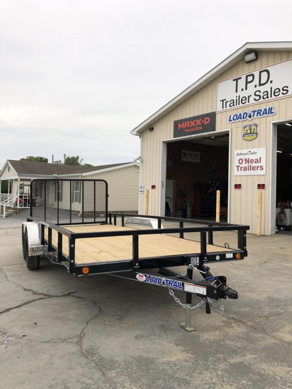 "2021 Load Trail 83"" x 18' Utility Trailer"