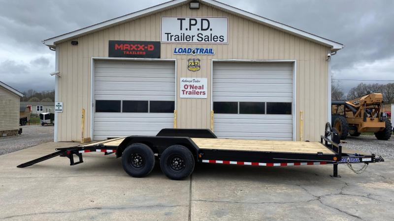 "2021 Load Trail 83""x20'Equipment Trailer"