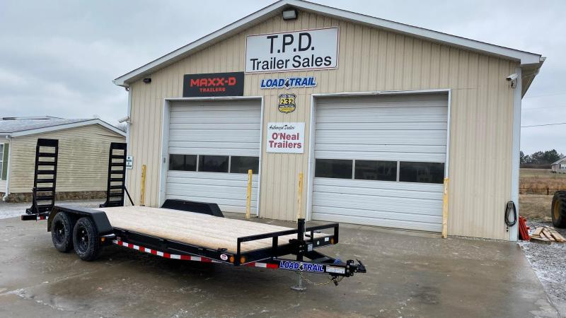 "2021 Load Trail 83""x20' Equipment Trailer"