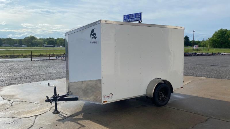 2021 Spartan Cargo 6'x10' Enclosed Trailer