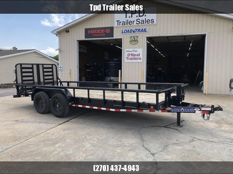 "USED 2021 Load Trail 83""x20' 14k Equipment Trailer"