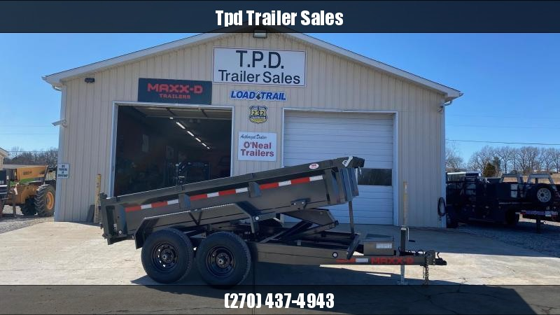 "2021 MAXXD 72""x12' Dump Trailer"