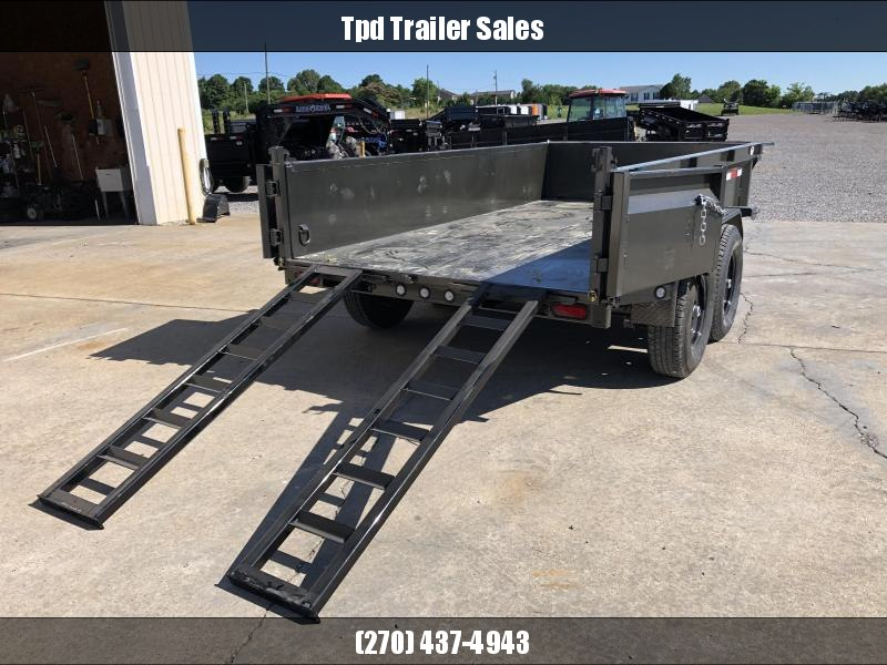 "2021 MAXXD 72""x12' 12k Dump Trailer"