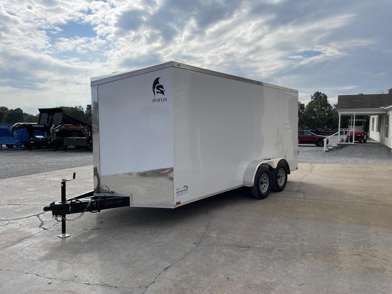 2022 Spartan Cargo 7X16 TA 7k Enclosed Trailer