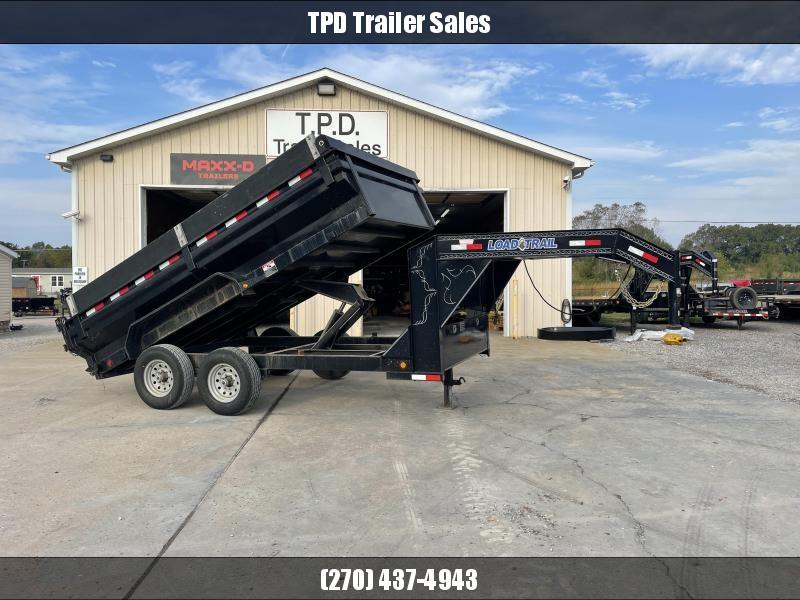 "2016 Load Trail 83""x14' 14k Gooseneck Dump Trailer"
