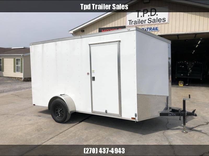 USED 2021 Spartan 6'x12' 3.5k Enclosed Trailer